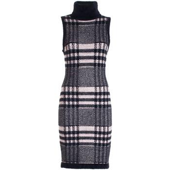 textil Dam Korta klänningar Fracomina FR21WD5010K46495 Svart