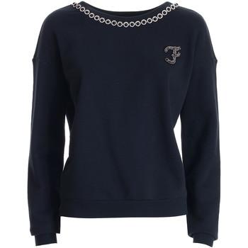 textil Dam Sweatshirts Fracomina FR21WT9006F400N5 Svart