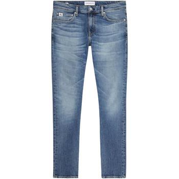 textil Herr Stuprörsjeans Calvin Klein Jeans J30J319015 Blå