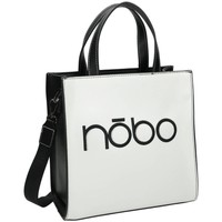 Väskor Dam Handväskor med kort rem Nobo 101960 Vit, Svarta