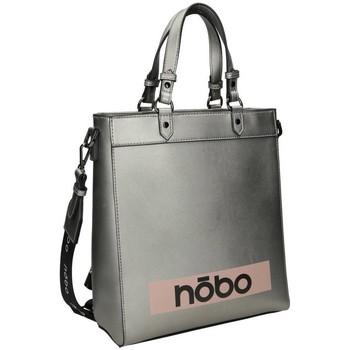 Väskor Dam Handväskor med kort rem Nobo 99600 Silver