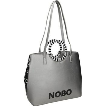 Väskor Dam Handväskor med kort rem Nobo 101250 Silver