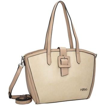 Väskor Dam Handväskor med kort rem Nobo 113350 Krämiga