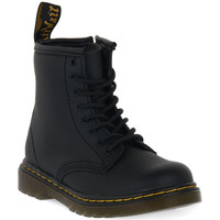 Skor Barn Boots Dr Martens 1460 BLACK SOFTY T Nero
