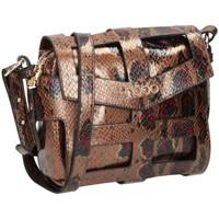 Väskor Dam Handväskor med kort rem Nobo 100170 Guld, Bruna