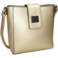 Väskor Dam Handväskor med kort rem Nobo 100470 Guld