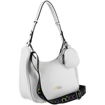 Väskor Dam Handväskor med kort rem Nobo 123600 Vit