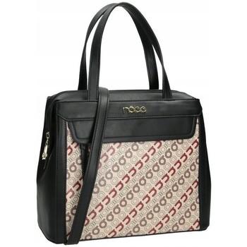 Väskor Dam Handväskor med kort rem Nobo 44420 Svarta, Beige