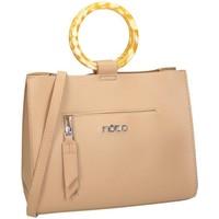 Väskor Dam Handväskor med kort rem Nobo 69070 Beige