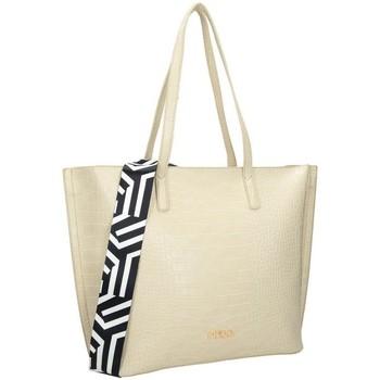 Väskor Dam Handväskor med kort rem Nobo 100250 Krämiga