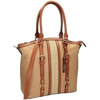 Väskor Dam Handväskor med kort rem Nobo 100030 Beige