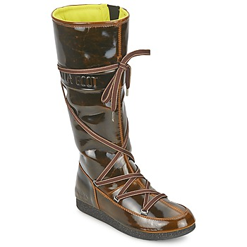 Skor Dam Vinterstövlar Moon Boot MB 7TH AVENUE Brons