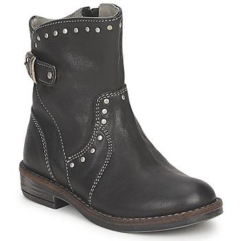 Skor Flickor Boots Noel FRANCA Svart