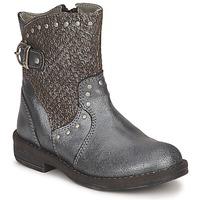 Skor Flickor Boots Noel FRANCA Silverfärgad