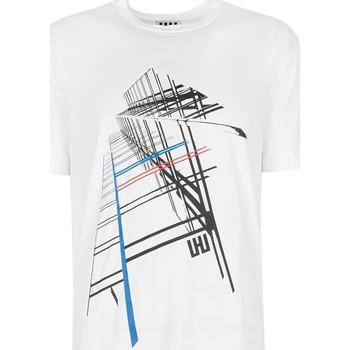 textil Herr T-shirts Les Hommes  Vit