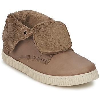 Skor Flickor Höga sneakers Chipie SABRINA Beige