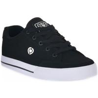 Skor Sneakers C1rca AL 50 SLIM BLACJK WHITE SYNTETIC Nero