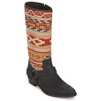 Skor Dam Stövlar Sancho Boots CROSTA TIBUR GAVA Brun / röd