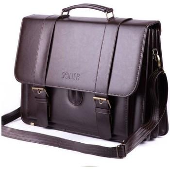 Väskor Väskor Solier Preston Bruna