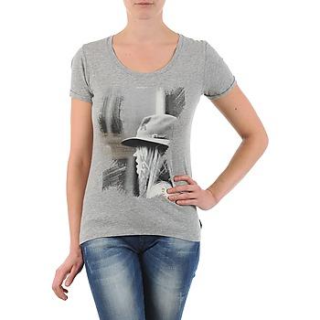 textil Dam T-shirts School Rag TORI Grå