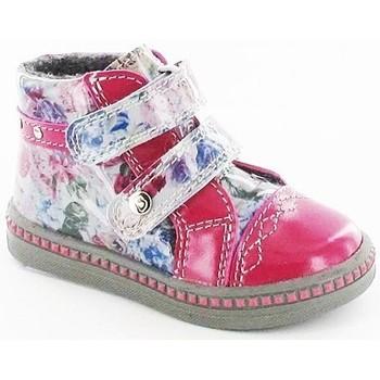 Skor Barn Höga sneakers Bartek W29176391LN Vit, Rosa