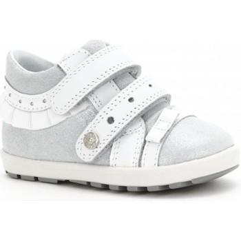 Skor Barn Höga sneakers Bartek Mini First Steps Vit, Gråa