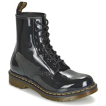 Skor Dam Boots Dr Martens 1460 W Svart