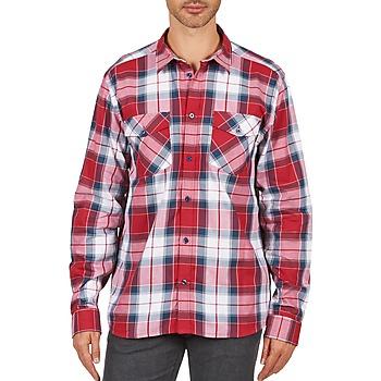 textil Herr Långärmade skjortor Wesc JOEY Röd