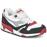 Skor Sneakers Diadora N9000  NYL Vit / Svart / Röd