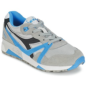 Skor Sneakers Diadora N9000  NYL Grå / Blå / Svart