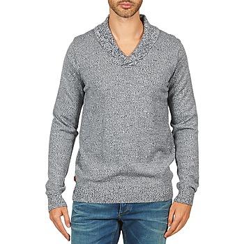 textil Herr Tröjor Kulte PULL CHARLES 101823 BLEU Blå