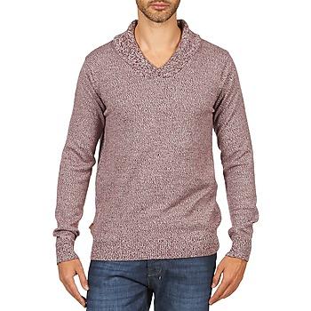 textil Herr Tröjor Kulte PULL CHARLES 101823 ROUGE Röd