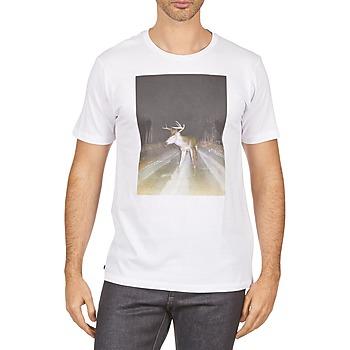textil Herr T-shirts Kulte BALTHAZAR PLEIN PHARE 101931 BLANC Vit