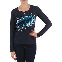 textil Dam Långärmade T-shirts Brigitte Bardot BB43130 Blå