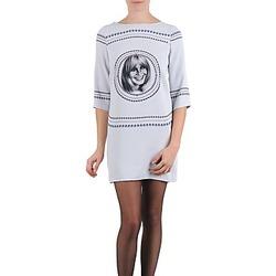 textil Dam Korta klänningar Brigitte Bardot BB43121 Grå