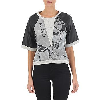 textil Dam Sweatshirts Brigitte Bardot BB43025 Grå
