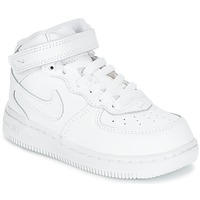 Skor Barn Sneakers Nike AIR FORCE 1 MID TODDLER Vit