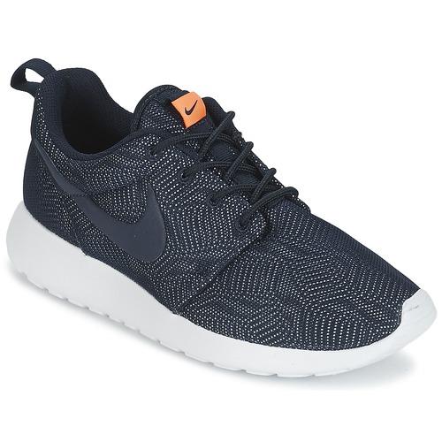 Skor Dam Sneakers Nike ROSHE RUN MOIRE W Blå