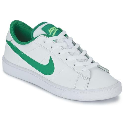 Skor Pojk Sneakers Nike TENNIS CLASSIC JUNIOR Vit / Grön
