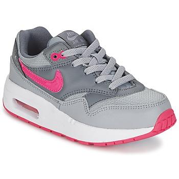 Skor Flick Sneakers Nike AIR MAX 1 CADET Grå / Rosa