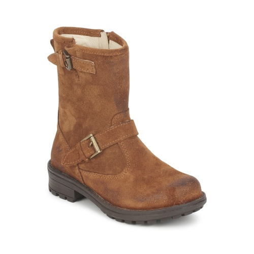 Skor Flickor Boots Naturino  Guldbrun