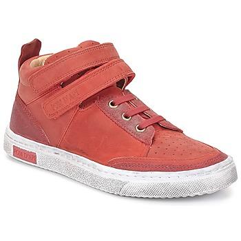 Skor Flick Höga sneakers Pom d'Api BACK BASKET Röd