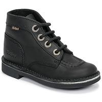 Skor Barn Boots Kickers KICK COL Svart
