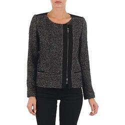 textil Dam Jackor & Kavajer Lola VIE LUREX Svart / Beige