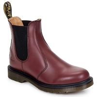 Skor Boots Dr Martens 2976 CHELSEA BOOT Röd / Körsbär