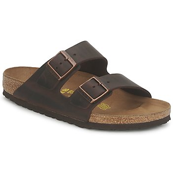 Skor Herr Tofflor Birkenstock ARIZONA LARGE FIT Habana