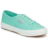 Skor Dam Sneakers Superga 2750 COTU CLASSIC Pastell / Grön