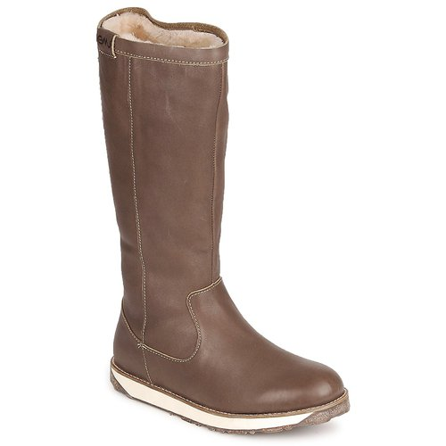 Skor Dam Boots EMU LEEVILLE Brun