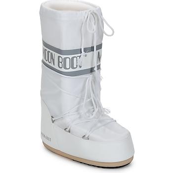 Skor Dam Vinterstövlar Moon Boot CLASSIC Vit / Silver