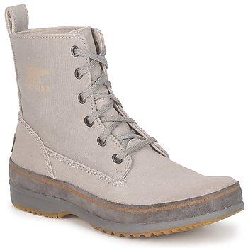 Skor Herr Boots Sorel  Grå